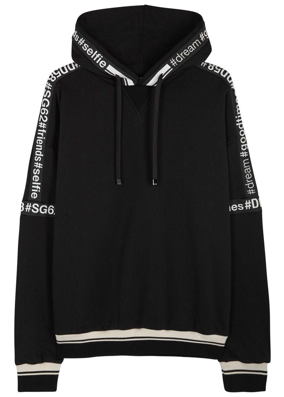 Pin By Nick On Mens Sweatshirts Hoodie Fashion Black Cotton Sweatshirt Sweatshirts [ 1372 x 980 Pixel ]