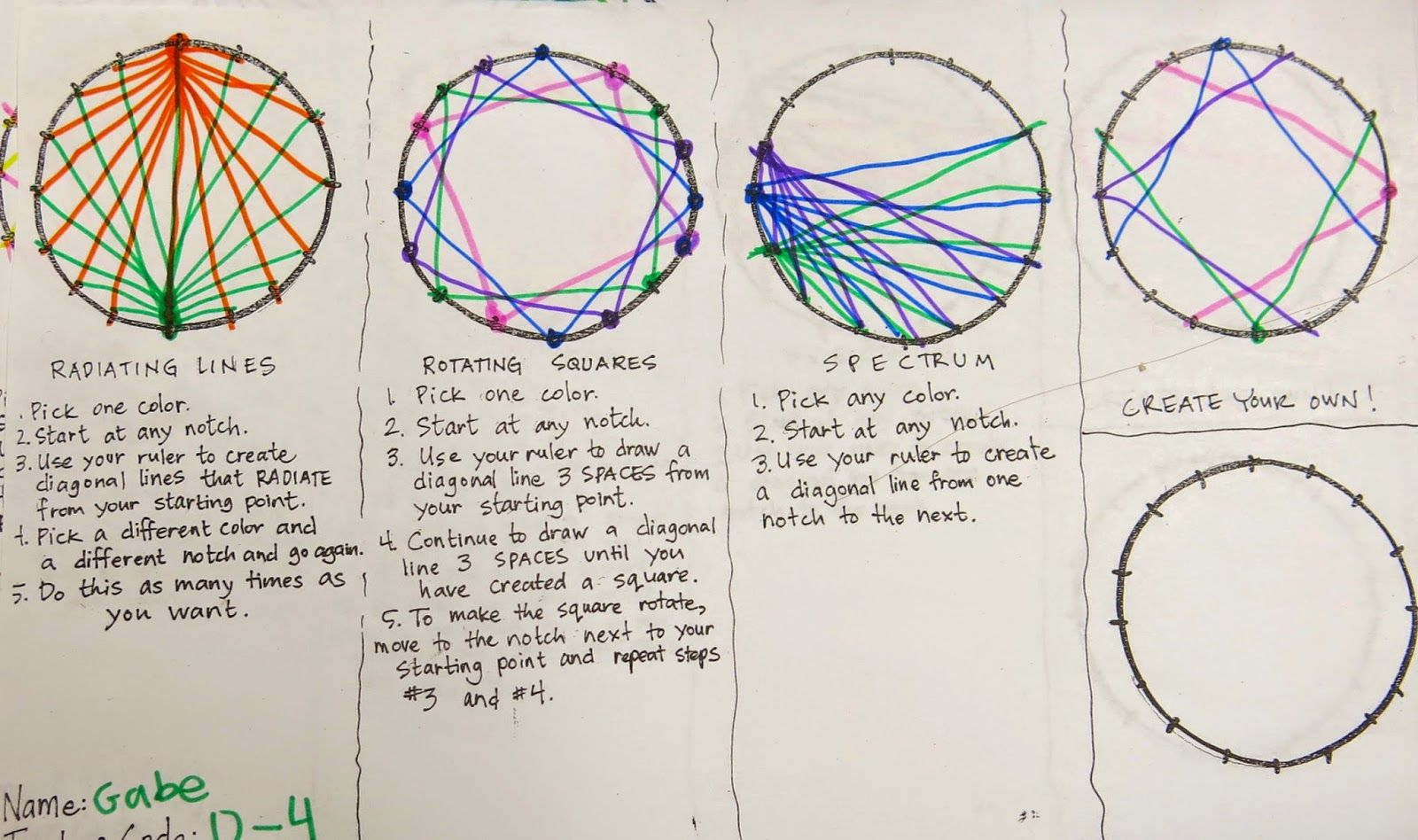 Cassie Stephens: In the Art Room: A String-Stitched Dot for Dot Day! #dotdayartprojects