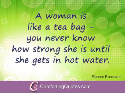Encouraging Quotes For Women Simple Eleanor Roosevelt Quotes About Strong Women  Comfortingquotes . Inspiration Design