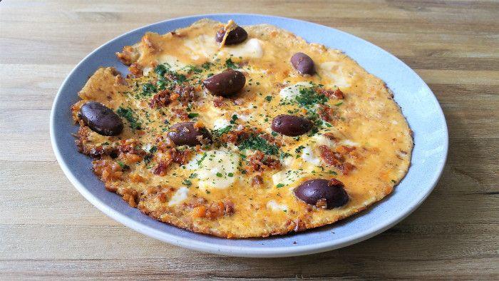 Italian-style Omelette - low carb  Omelett ideen