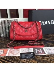 c566d6702222 Chanel Red Caviar Calfskin Limited Edition Flap Bag 2015 | Chanel ...