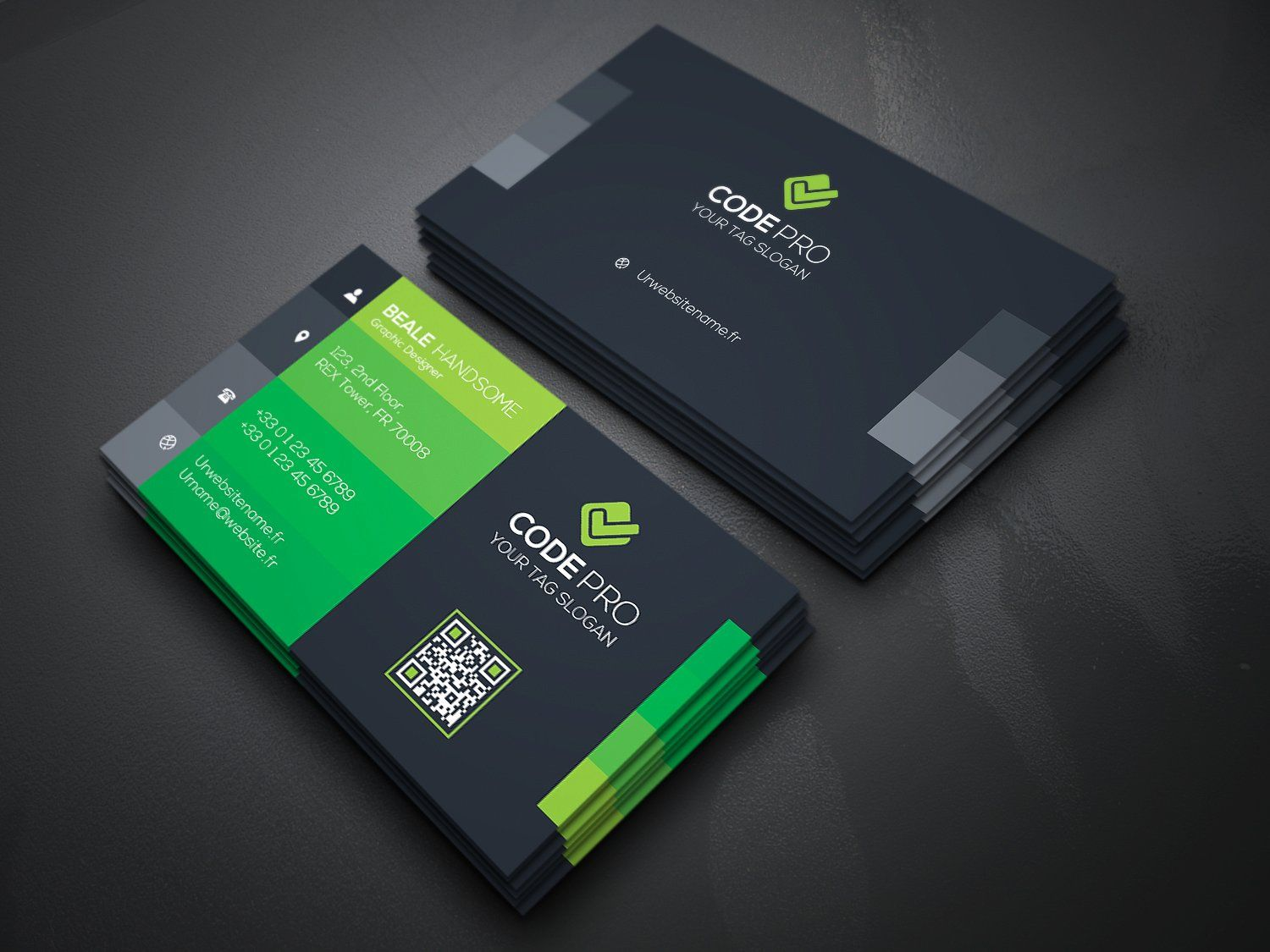 Multipurpose Business Card Business Cards Business Card Branding Business Card Design