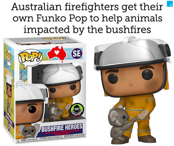 Funko Pop Australian Firefighters In 2020 Public Relations Event Marketing Social Media Digital Marketing Social Media