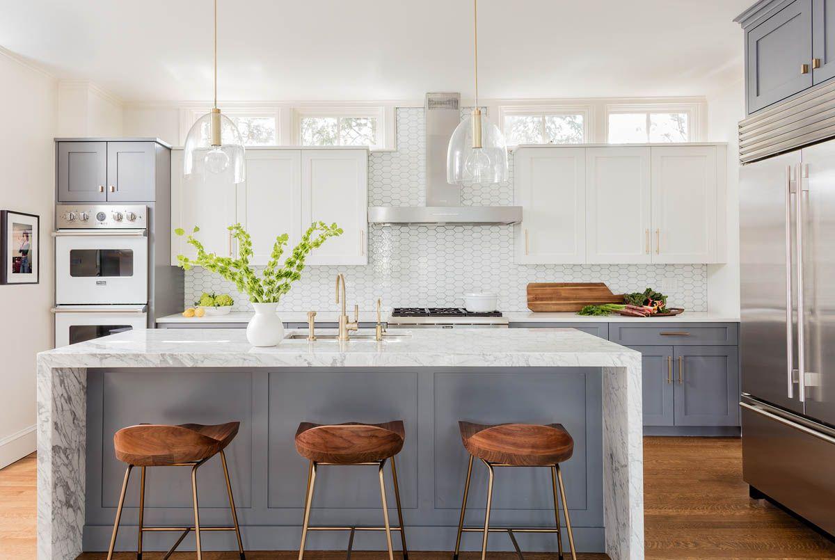 Interior Designed Kitchens Avon Hill Cambridge  Elms Interior Design  Kitchen  Efficient
