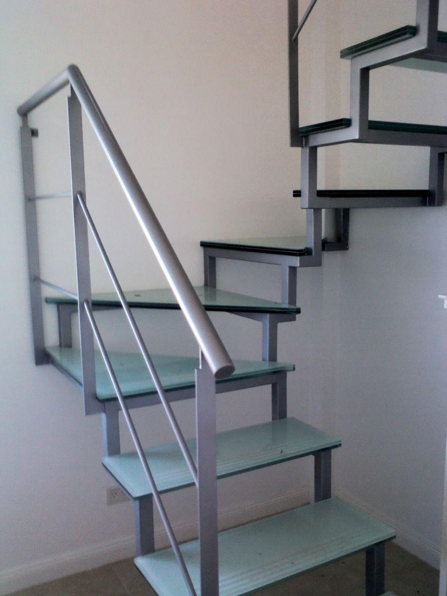 Escaleras metalicas para exterior o interior escaleras pinterest escaleras metalicas - Escaleras de hierro y madera para interiores ...