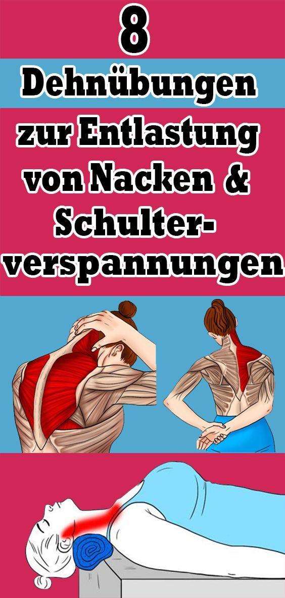 Photo of 8 Dehnübungen zur Linderung von Nacken- und Schulterverspannungen – 8 Dehnübungen …