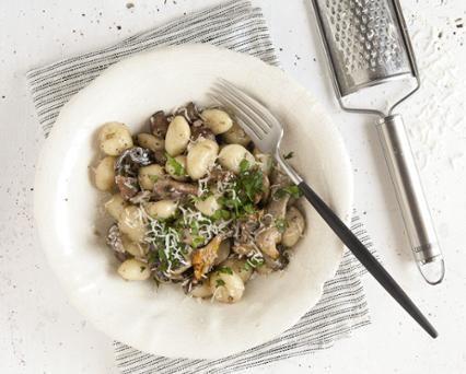 Recette Gnocchis aux champignons frais et parmesan - Seb ...