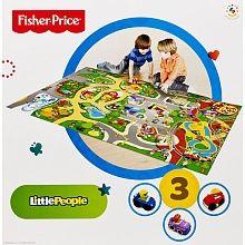 Fisher-Price - Little People - Le Tapis intelligent Wheelies ...