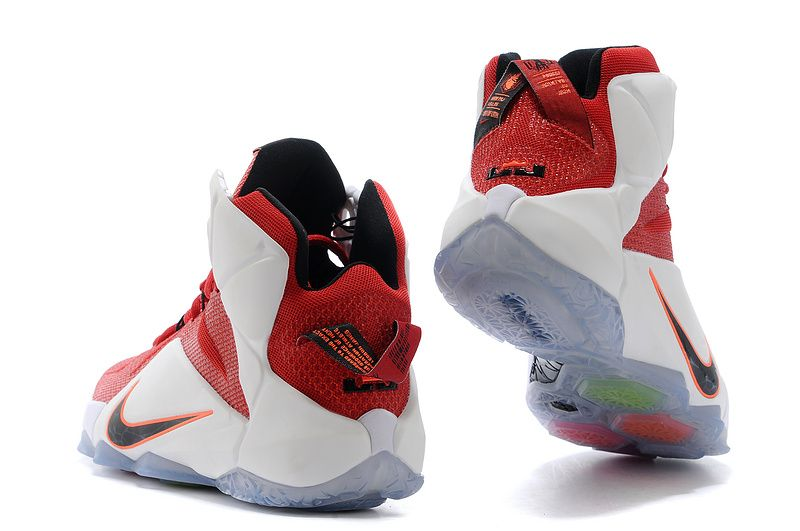low priced 6132a 159fa Nike LeBron 12 Red White Lion Heart