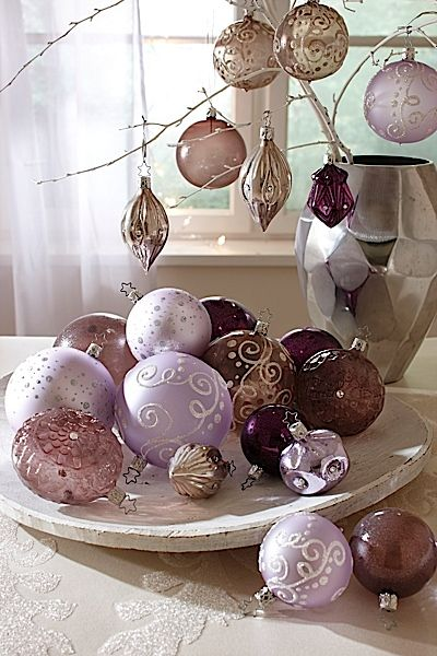 Christmas Decorations for 2012 from Inge Glass.