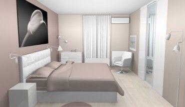 Déco chambre taupe et blanc interior interiors
