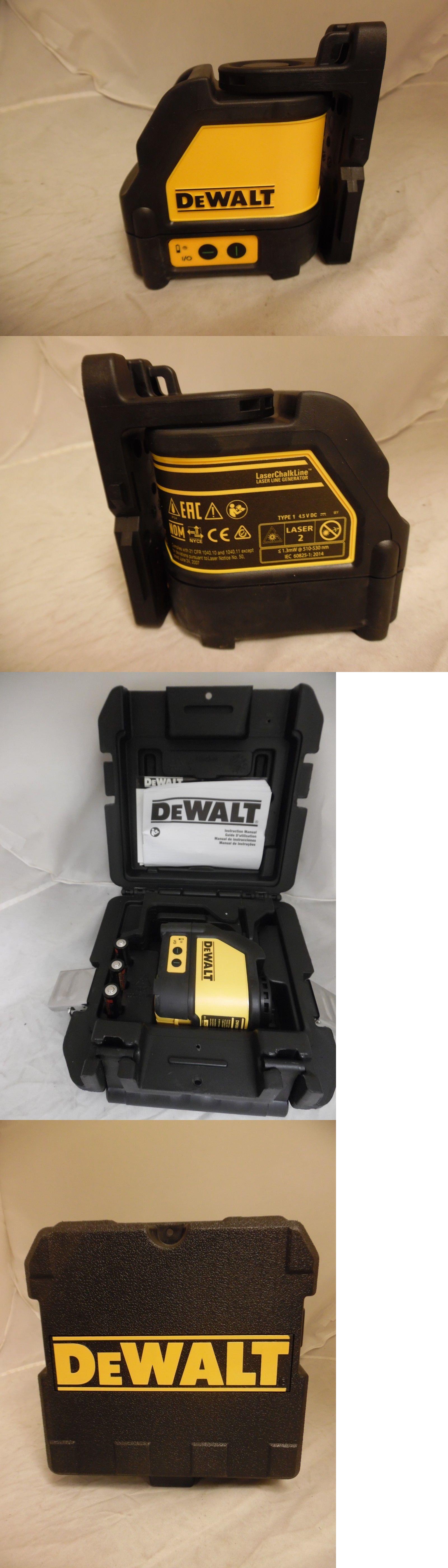 Laser Measuring Tools 126396 Dewalt Dw088cg Cross Line Green Laser Level Buy It Now Only 159 99 On Ebay La Green Laser Measuring Tools Dewalt