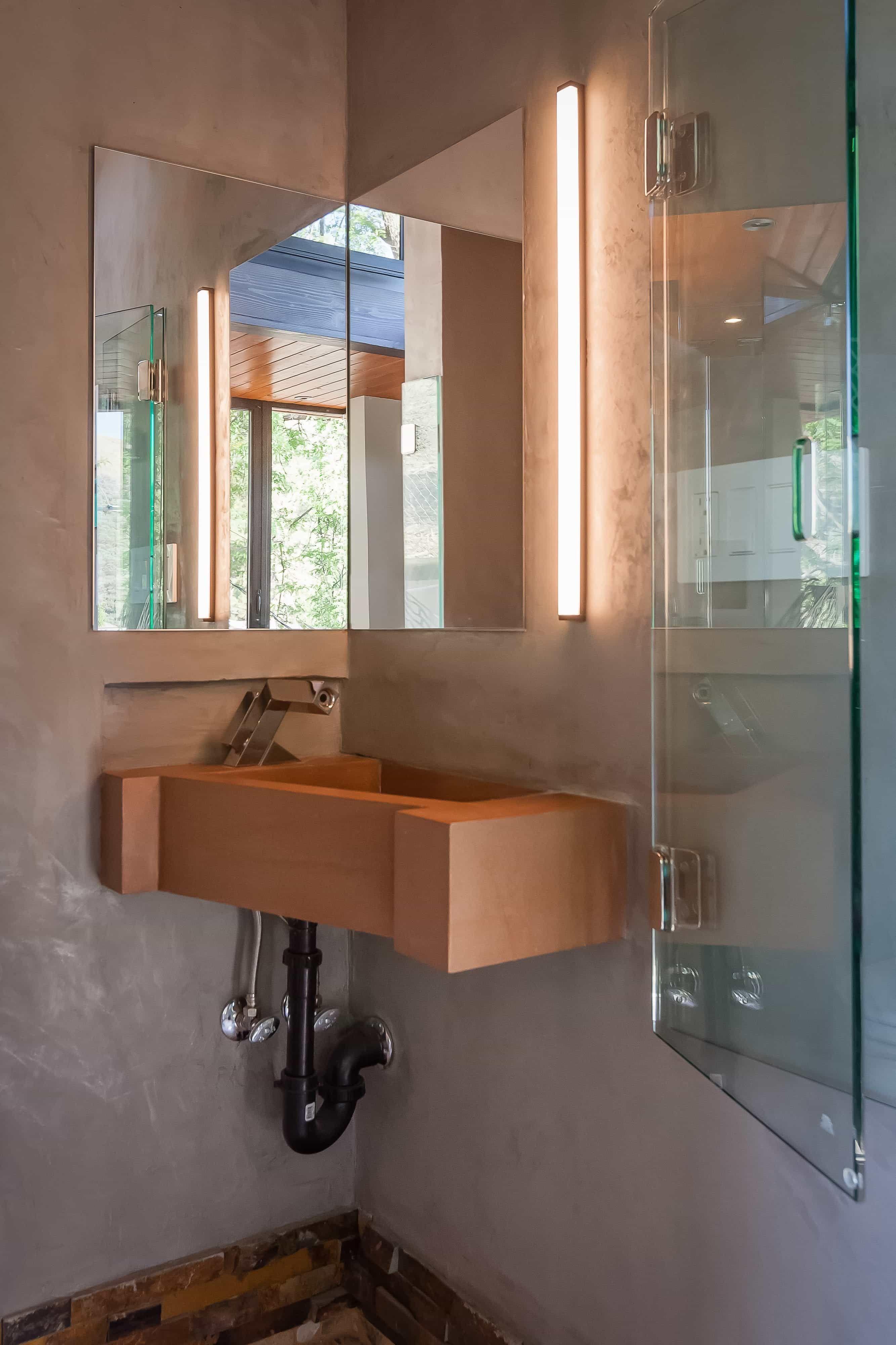 Spa wie badezimmer ideen die gute und perfekte eck waschtisch für badezimmer dekor