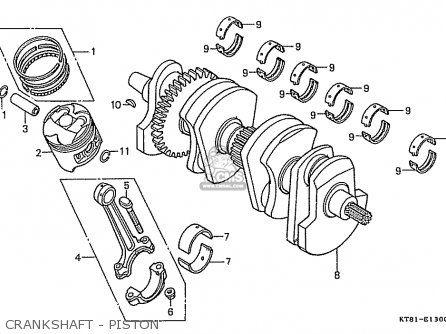 Peachy Honda Cbr400Rr 1988 J Japanese Domestic Nc23 102 Crankshaft Piston Wiring 101 Carnhateforg