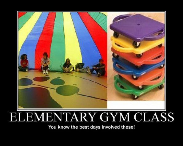 The good things about gym class | Childhood memories ...
