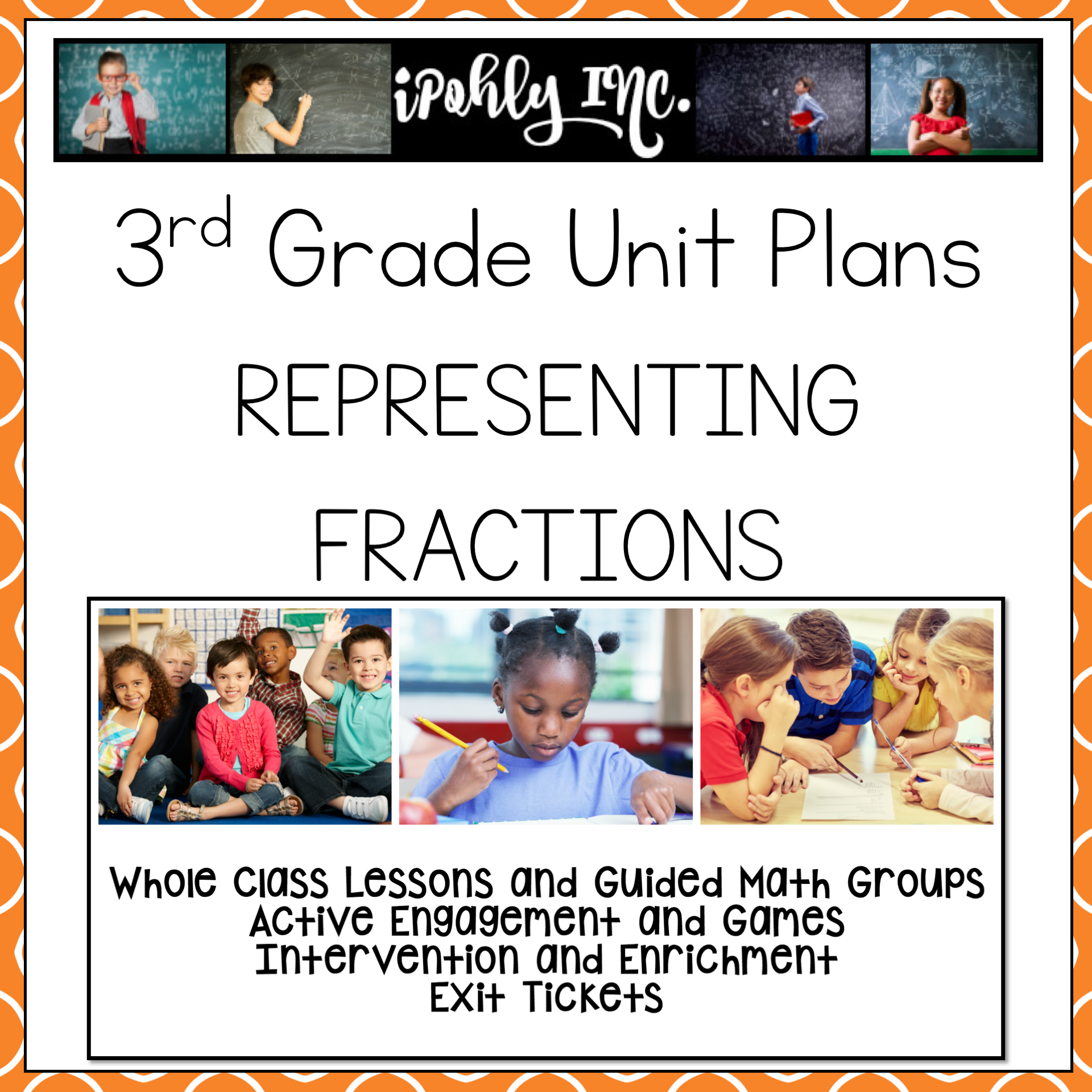 Representing Fractions 3rd Grade Math Lesson Plans 3 3a 3