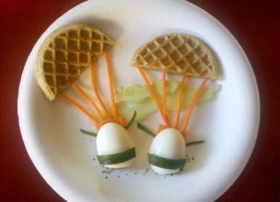 some guy made 21 ways to serve his wife eggs when she was on bedrest while pregnant, some of them are really creative