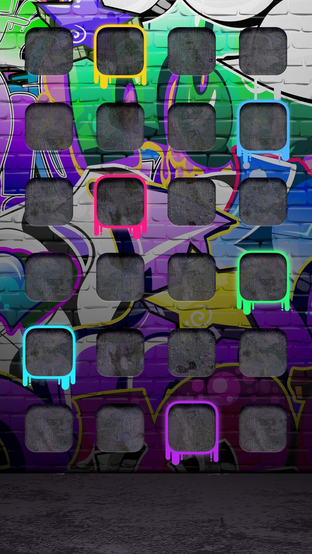 Graffiti iphone wallpaper