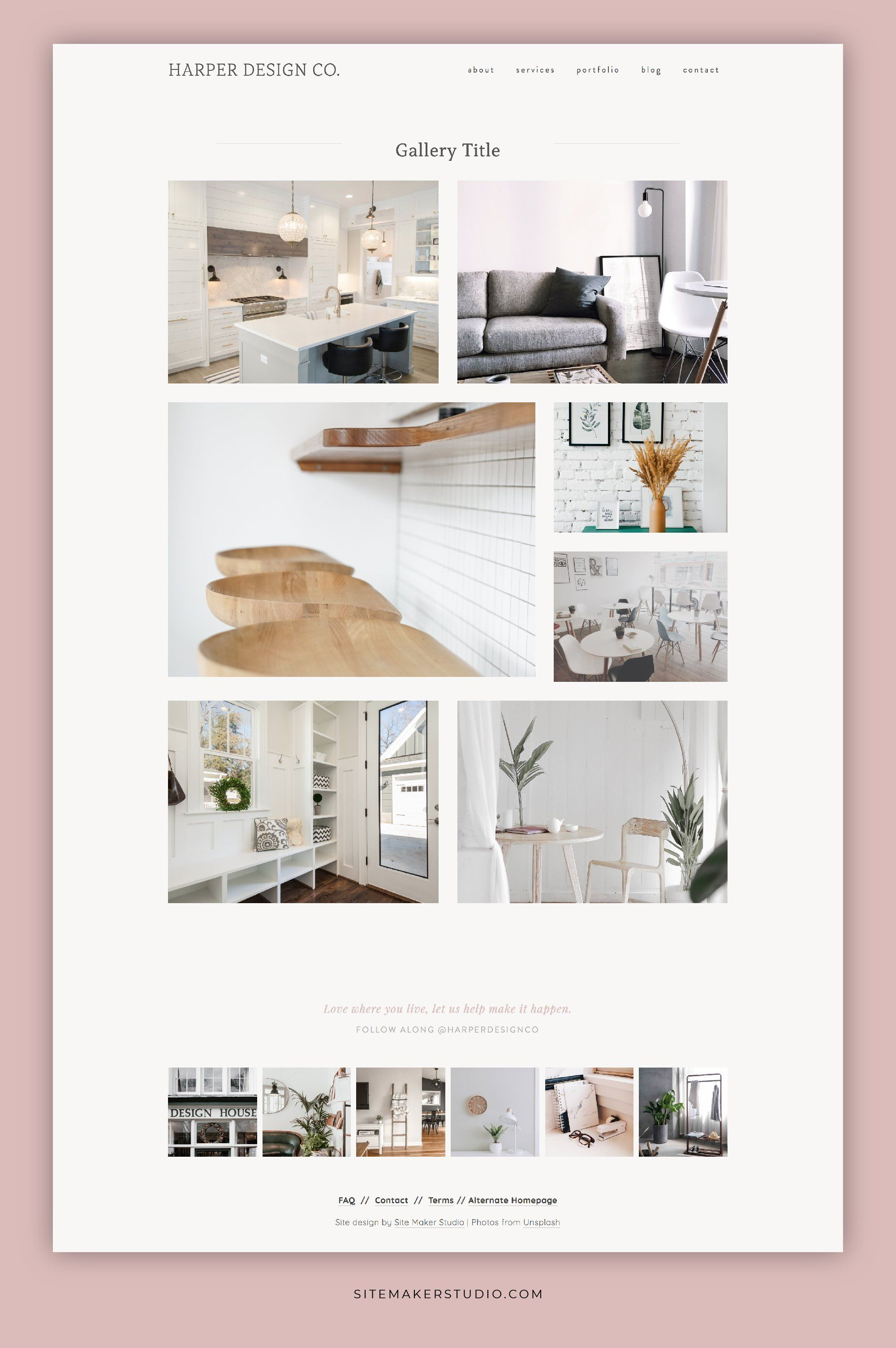 Harper Design Co With Images Interior Design Website