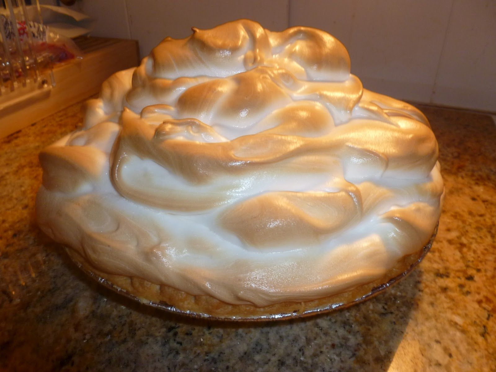 Creamy Butterscotch Pie - This is one of the creamiest pies you'll ever eat.