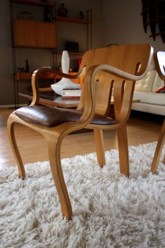 Vintage MidCentury Modernist Bentwood Danish Inspired Chairs Beauteous Danko Furniture Ideas
