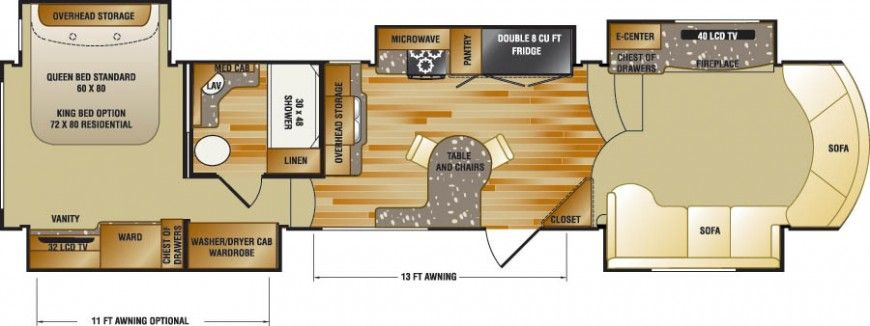 Luxury Rv Floor Plans Floorplan Thumbnail Homesteading