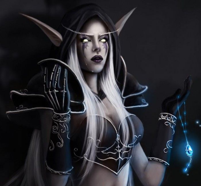 Lady Sylvanas Windrunner | Sexy Video Game Characters ...