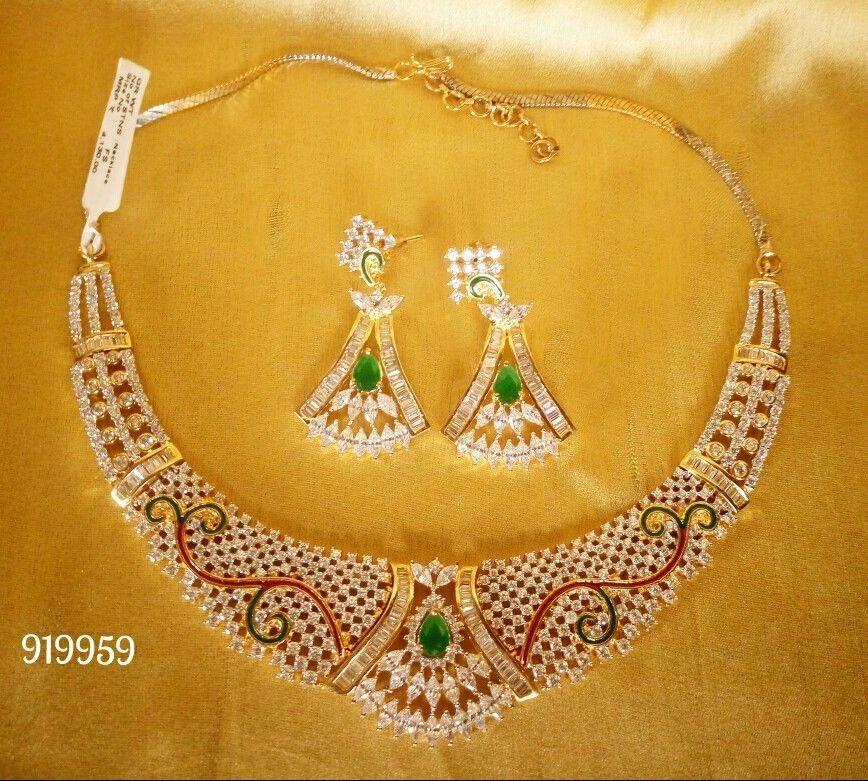 Indian Gold Plated Green Stone Wedding Wear Designer Fashion ...