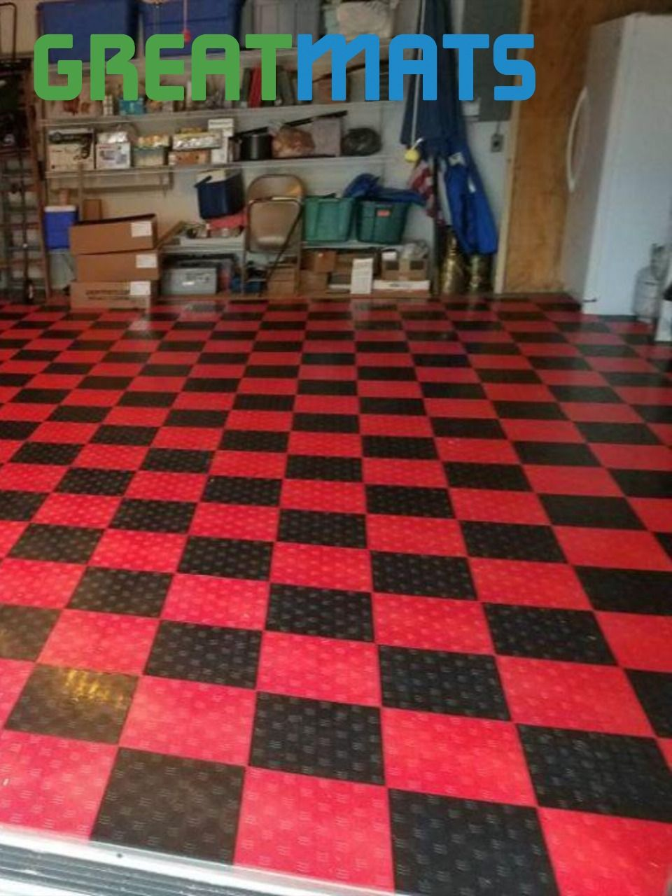 Garage Floor Tile Diamond In 2020