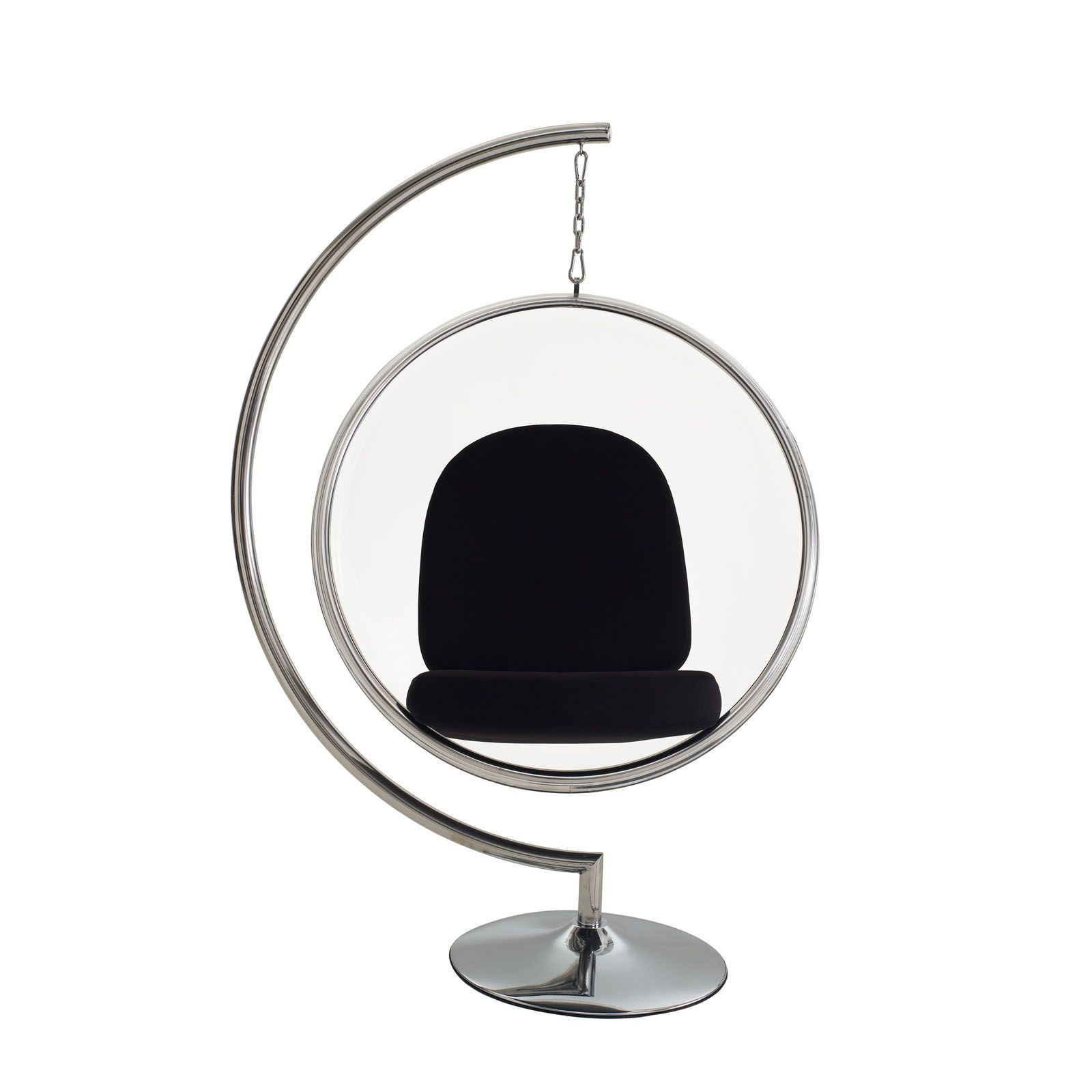 eero aarnio style bubble chair w stand