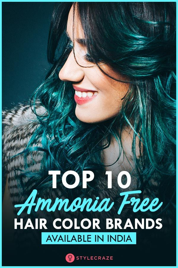 15 Best Ammonia Free Hair Colors In India Hair color