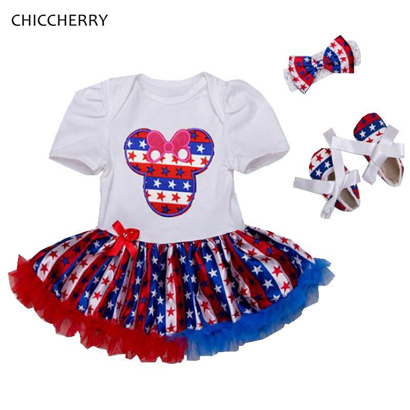 SC/_VD08 Celebrate Labor Day Baby Girls Short-Sleeved Tshirts Clothing