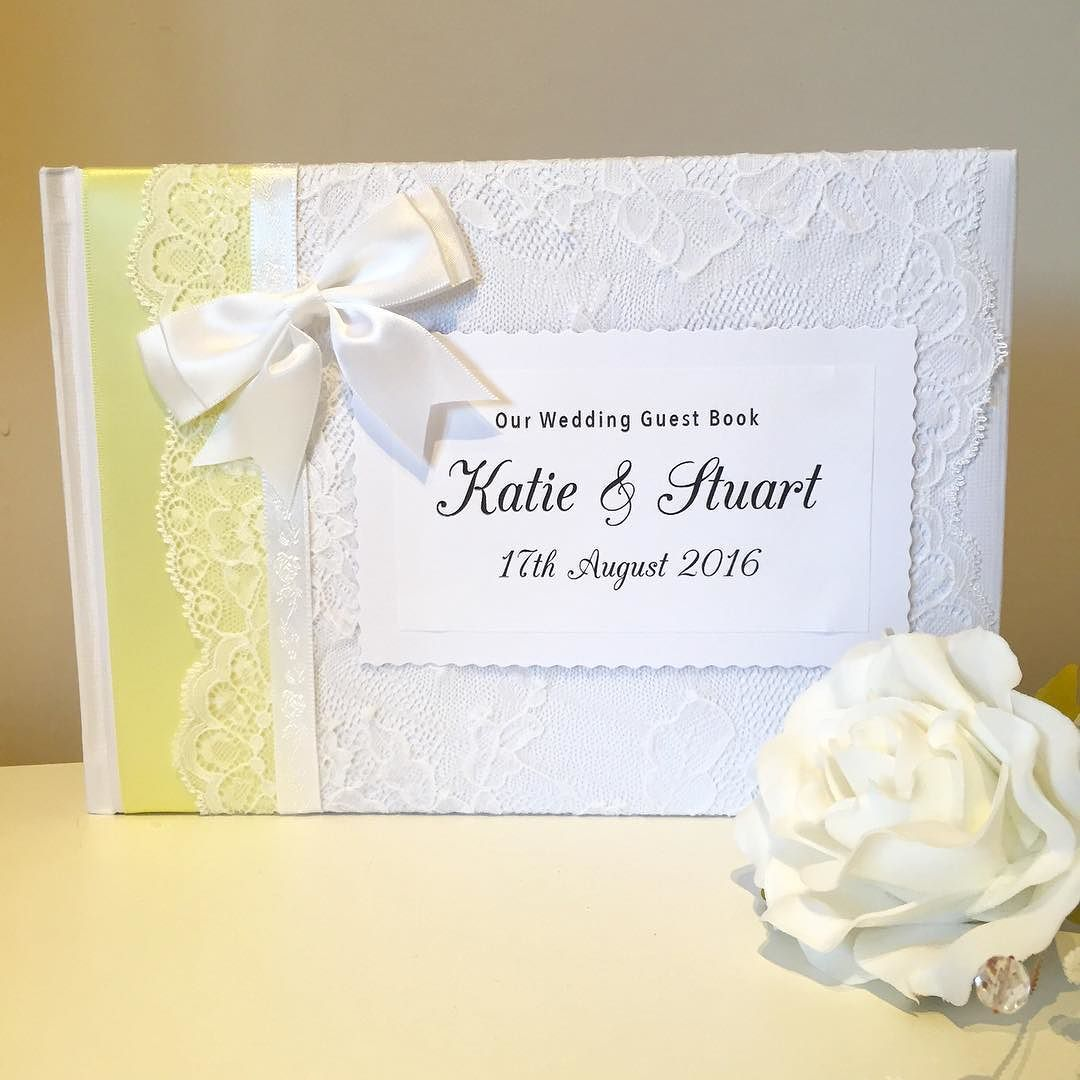 Lemon wedding guestbook tonight ahoydesignscouk wedding brides