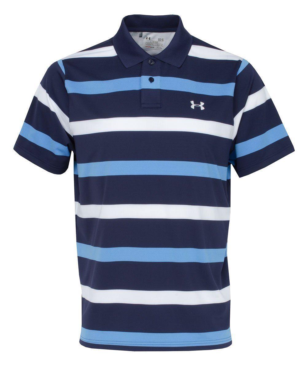 Under Armour Herren Polo T Shirt EU Performance Bold Stripe