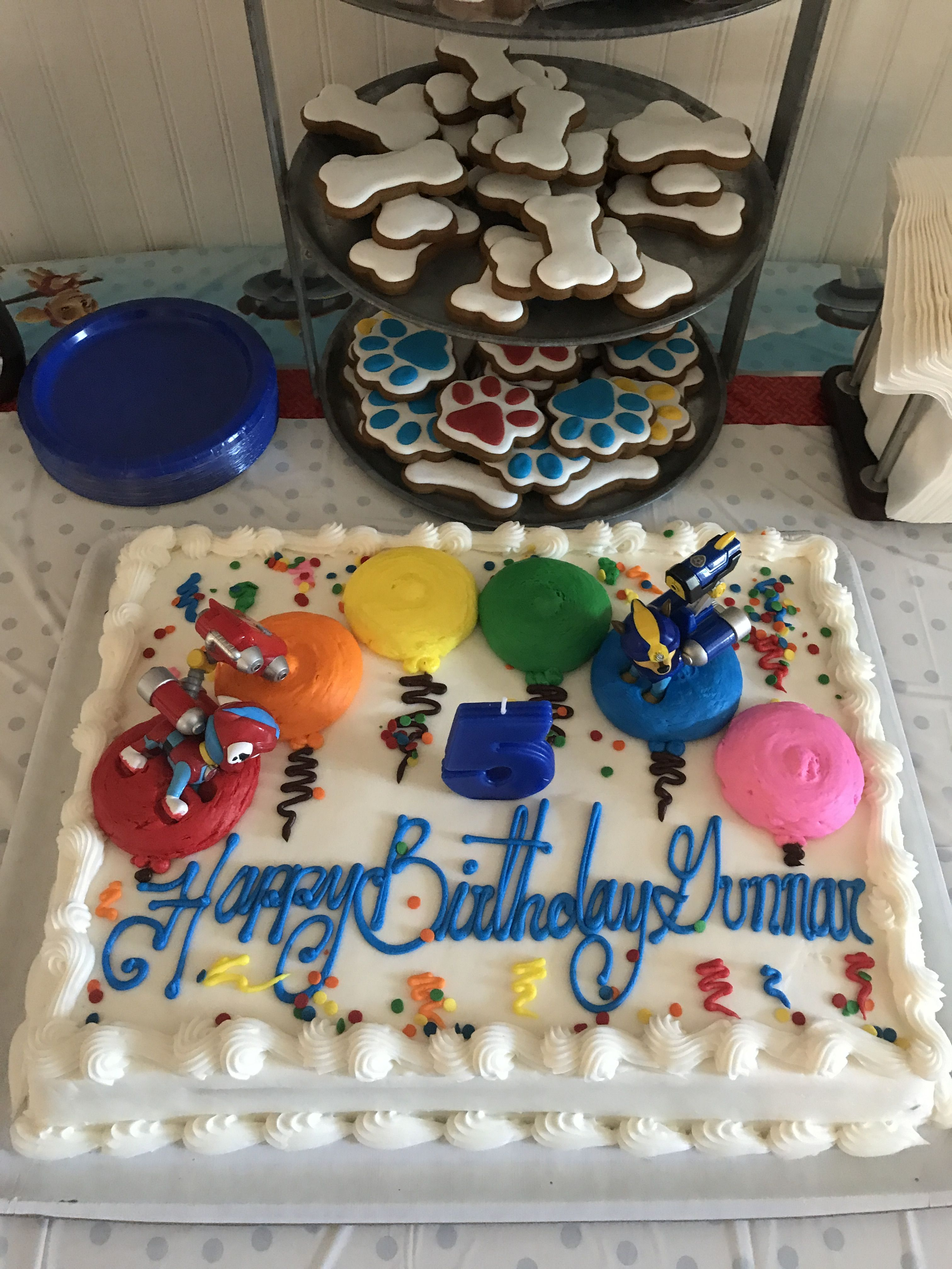 Stupendous Paw Patrol Birthday Cake Costco Cake With Images Paw Patrol Personalised Birthday Cards Veneteletsinfo