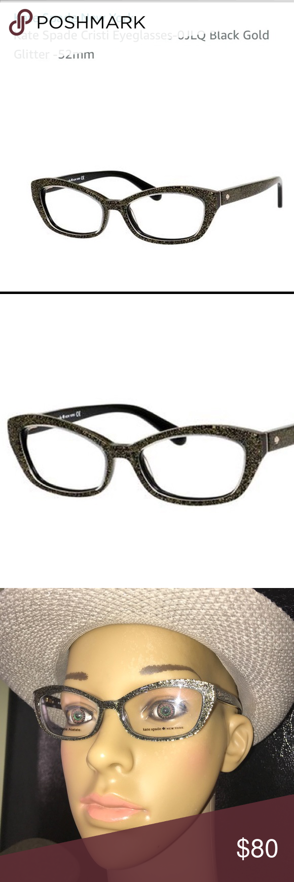 7af8fa9a35 Kate Spade Eyeglasses New inbox. Style is Cristi 0JLQ. Ready for your RX.  Size 50 16 135. Comes with hard case Retail  190 kate spade Accessories  Glasses