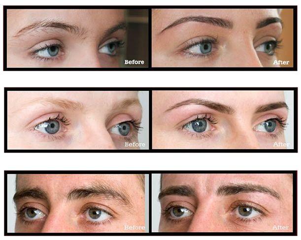 eyebrow shaping and tinting | brow shaping by danielle santagata ...