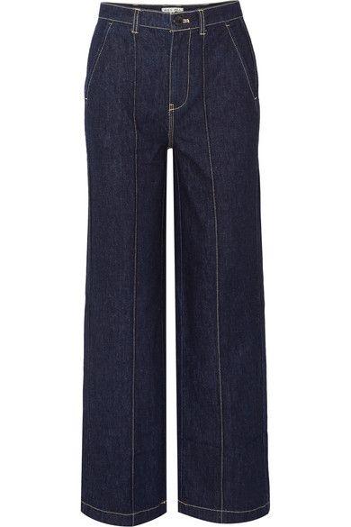 Alex Mill – Jane Mid-rise Straight-leg Jeans – Dark denim