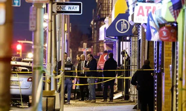 Jersey City Shooting Six Dead As Officials Say Suspects Targeted Jewish Grocery The Guardian