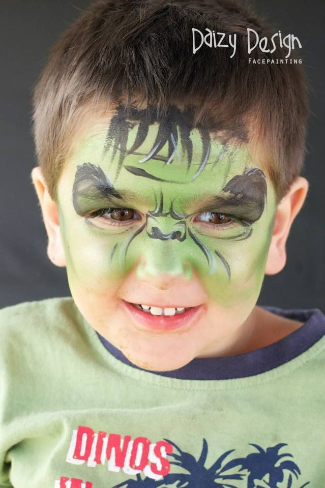 (98) Daizy Design Face Painting