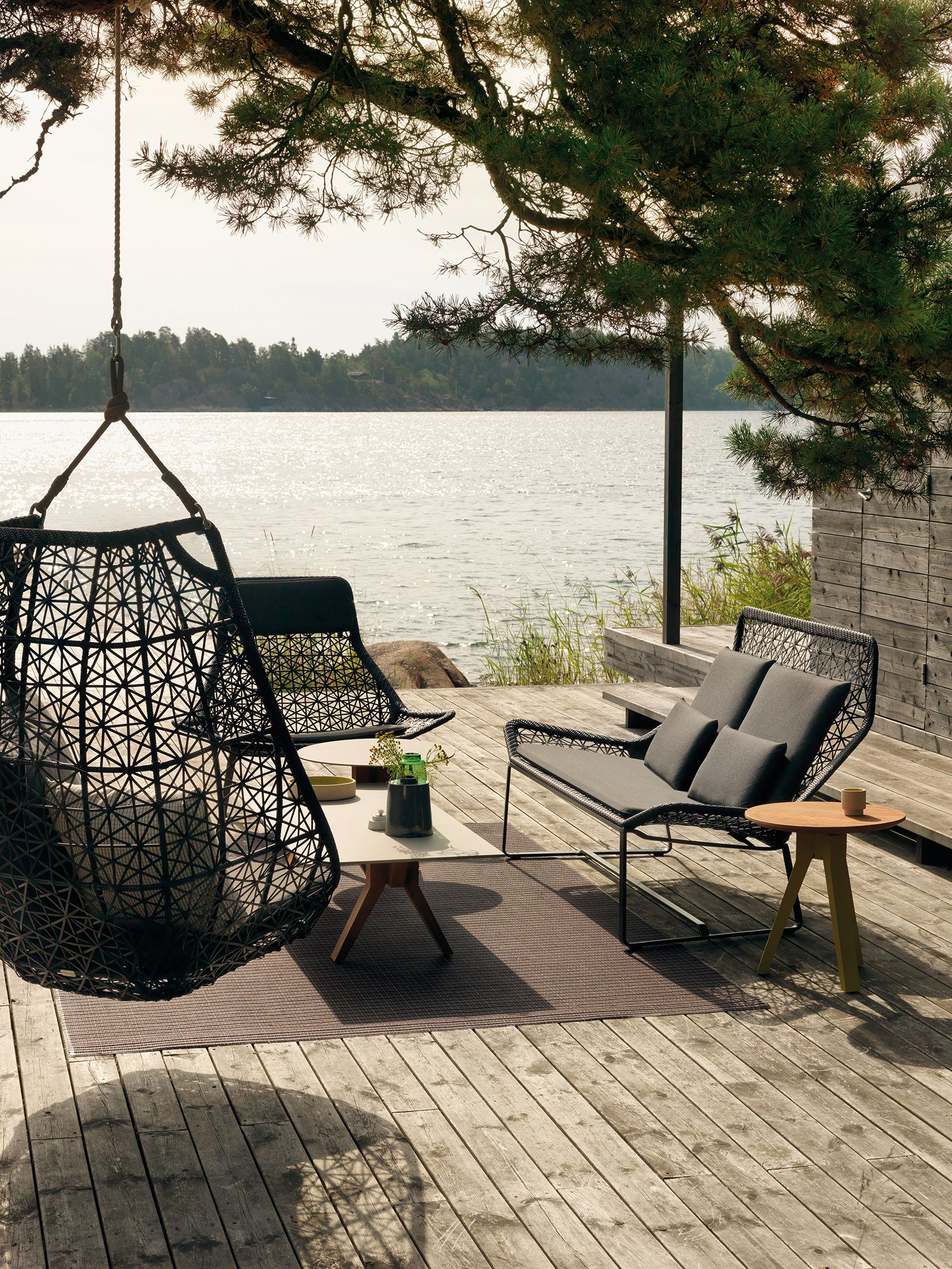 KETTAL MAIA - Columpio EGG | Outdoor Living Spaces | Mobilier jardin ...