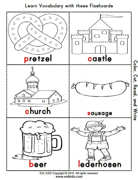 Germany Themed Classroom Center Bundle Germany For Kids Germany