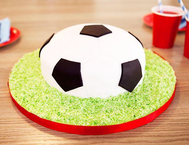 Football Cake Celebration Cakes Pinterest Cake Birthday