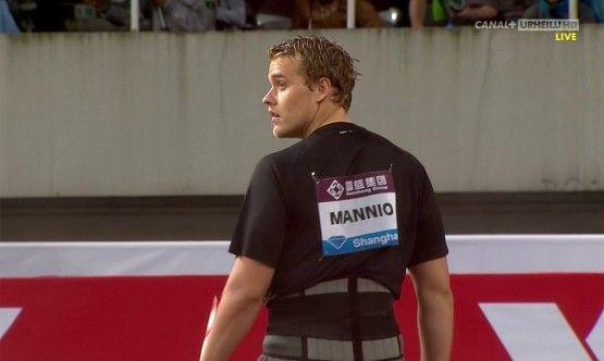 Ari Mannio, keihäänheittäjä / javelin thrower