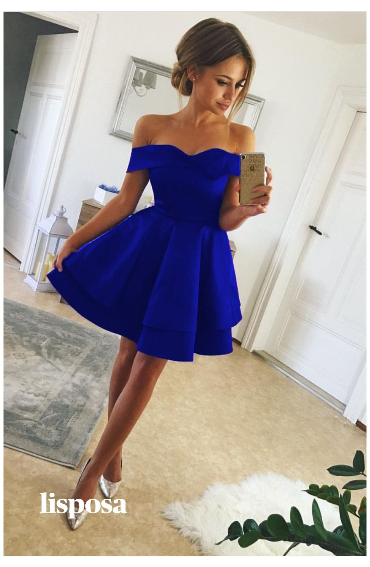 Royal Blue Homecoming Dresses Satin Royal Blue Formal Dress Short Royal In 2021 Royal Blue Prom Dress Short Royal Blue Homecoming Dresses Prom Dresses Short Blue [ 1937 x 1266 Pixel ]