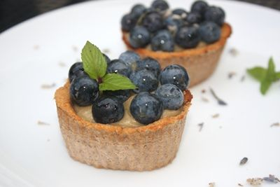 Raw Vegan Blueberry Tart Recipe