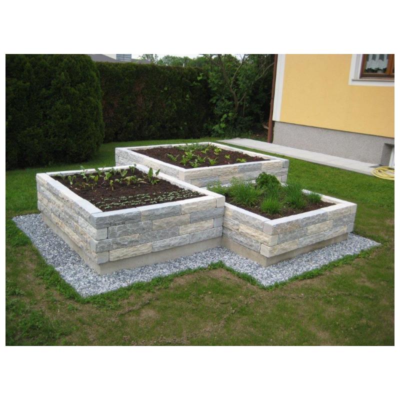 Gunstige Hochbeetsteine Aus Naturstein Fur Ein Hochbeet Ihrer Wahl Einfacher Aufbau Schone Optik Gun In 2020 Vegetable Garden Design Herb Garden Design Garden Beds
