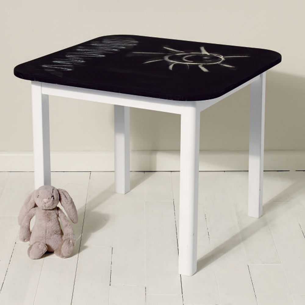 Good Kids Table, Blackboard Table, Design Your Own Table, Draw On Table,  Chalkboard