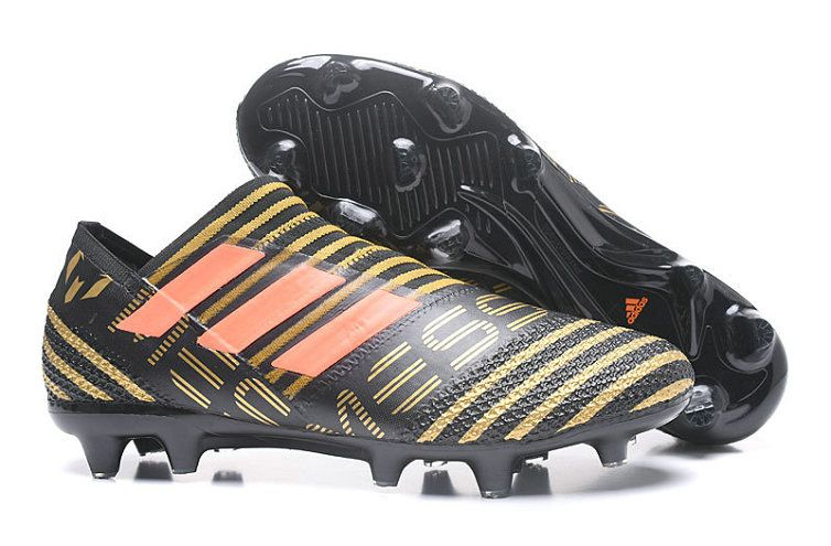 ac35d897f18d Cheap Adidas Nemeziz Messi 17+ 360 AG 2018 Word Cupility FG 2018 Word Cup  Football Boots Core Black Tactile Gold MetallIC 2018 Word Cup Solar Red