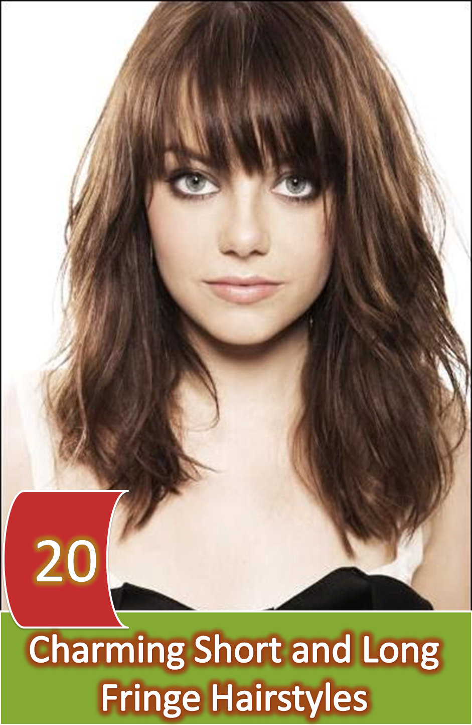 20 Appealing Short & Long Fringe Hairstyle For A Glowing Beauty ...